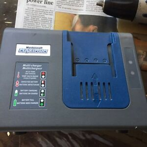 Mastercraft power drill 18volt one battery plus charger 35 obo