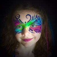 Professional Face Paint! For Birthdays, special events and more!