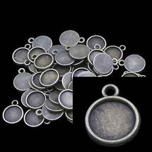 50-VERSIONI-bronzefarbe-CARTELLINO-PER-10-mm-cabochon-p00606x4