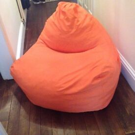 Large seat beanbag for indoor or outdoor