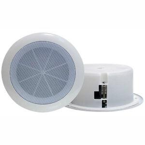 Haut-parleurs plafond encast. 6.5po 120W FullRange Dual Cone 1pc