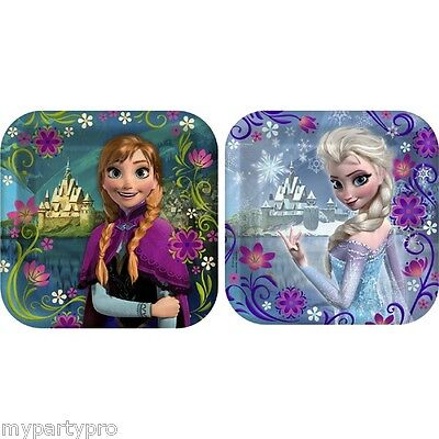 DISNEY'S FROZEN DESSERT PLATES, BIRTHDAY PARTY supplies FREE SHIPPING - Frozen Dessert Plates