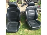 Seat Leon leather seats electric