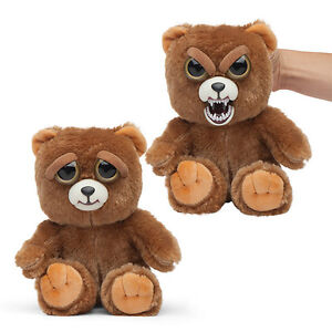 WMC-FEISTY-PETS-SIR-GROWLS-A-LOT-BEAR-PLUSH-TOY-NICE-TO-FEISTY-WITH-A-SQUEEZE