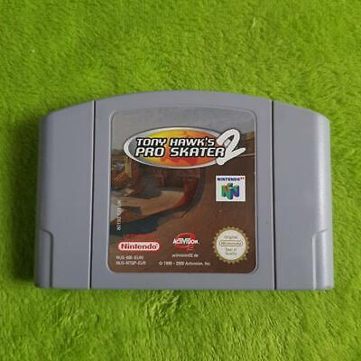 N64 - Tony Hawk's pro Skater 2 -Pal- Nintendo 64