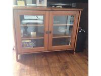 Pine TV Display Cabinet