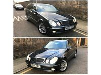 Mercedes e320 v6 3.0 diesel 7 gear auto estate 2006