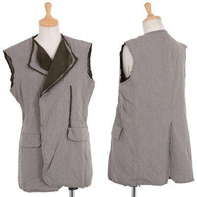 (SALE) COMME des GARCONS cut off Layered vest Size M(K-21051)