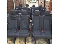 Brand new Minibus seats