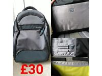 **Samsonite Laptop Rucksack** Immaculate Condition