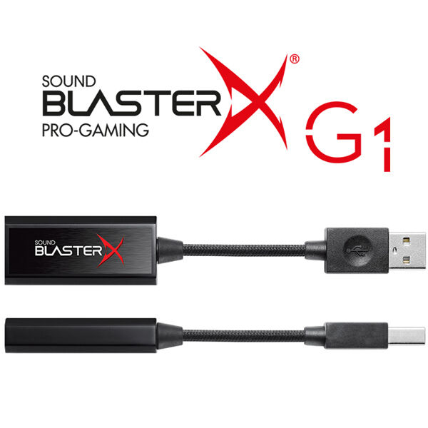 Creative Sound BlasterX G1 External Sound Card 1pcs