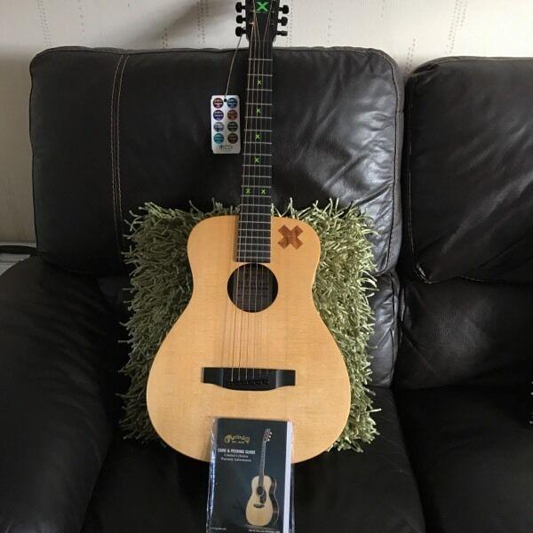 Martin Ed Sheeran X Signature acoustic guitar