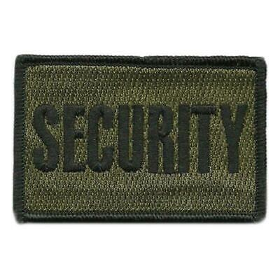 VELCRO® BRAND Hook Fastener Compatible Patch Security Olive 3x2