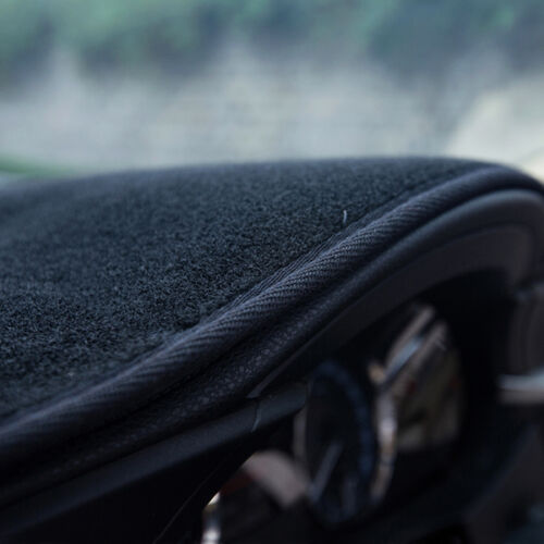 Inner Dashboard Dash Mat DashMat Sun Cover Pad For 2006-2010 KIA RIO black