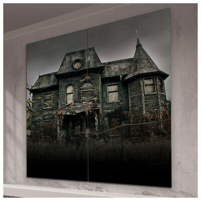 Halloween Decorations Wall Scenes (IT CHAPTER 2 NEIBOLT HOUSE SCENE SETTER Halloween Party Decorations Haunted)