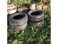 Tyres - 4x4 fits ford ranger etc