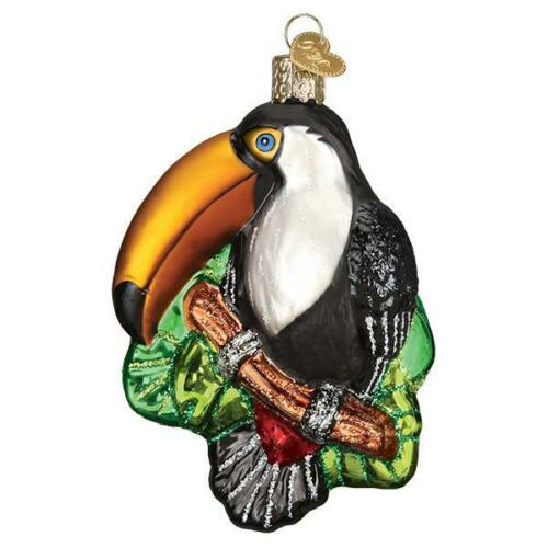 """""""Toucan"""" (16129)X Old World Christmas Orn w/OWC Box"""