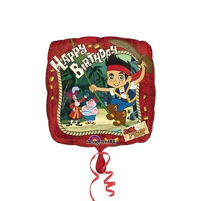 JAKE & THE NEVERLAND PIRATES HAPPY BIRTHDAY 45cm FOIL BALLOON ()