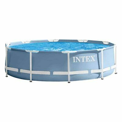 26700NP Prism Metal Frame Swimming Pool Round 3.05m 4485L Water Capacity Intex