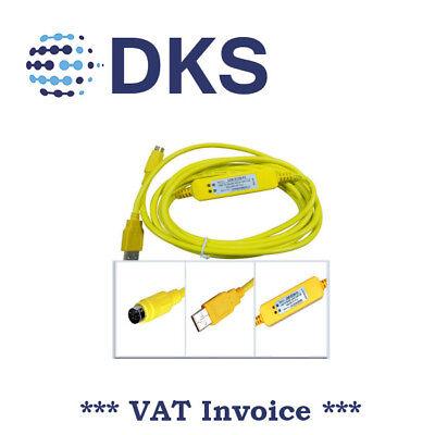 PLC Programming USB SC09 FX Cable For Mitsubishi MELSEC RS422 SC-09 000688