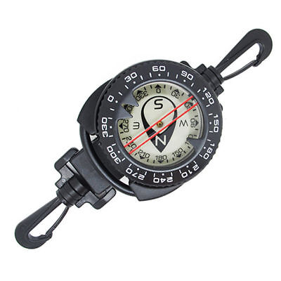 Scuba Choice Diving Dive Compass with Retractor stretched to -