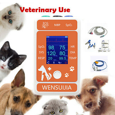 Veterinary Patient Multi-parameter Monitor Dogscats Medical Clinic Equipment