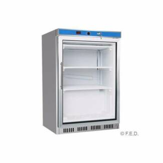 FED Commercial Display Freezer with Glass Door HF200G S/S
