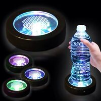 LED lights coaster
