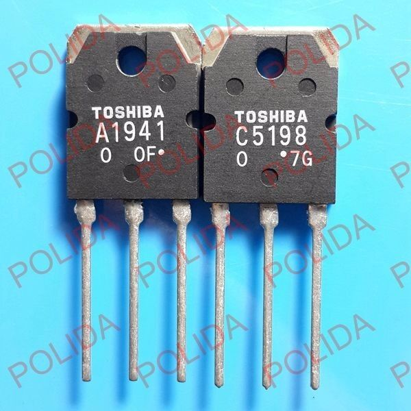 1 pair 2SA1941 2SC5198 A1941 C5198 TOSHIBA Transistor