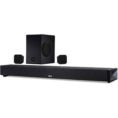 "RCA RTS739BWS 37"" 5.1 Channel Bluetooth Surround Soundbar System"