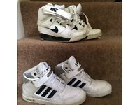 Size 5 nikes and Adidas trainers
