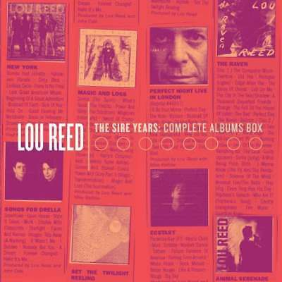 Lou Reed - The Sire Years: Complete Album NEW CD