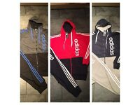 Adidas tracksuits. All sizes