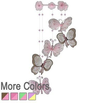 The Butterfly Grove - Butterflies Sprial mobile nursery hanging baby kids room