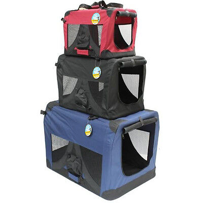 ME & MY PORTABLE FABRIC FOLDING PET CAGE/CARRIER FOR CAT/DOG/RABBIT/PUPPY KENNEL