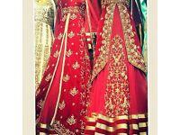 Making bridal dress Indian Asian Pakistani party latest fashion