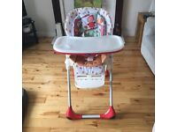 Chico poly happyland highchair
