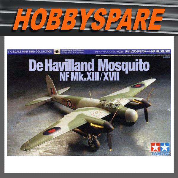 TAMIYA 1/72 60765 DE HAVILLAND MOSQUITO NF MK.XIII WAR BIRD COLLECTION MODEL KIT