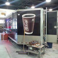 Concession Trailer restorations and repair.
