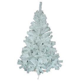 6ft (180cm) White Pine Effect Christmas Tree + FREE local delivery