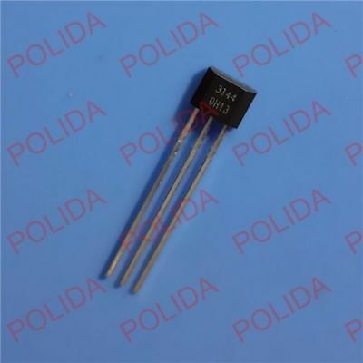 100pcs Sensitive Hall-effect Switches Sensor Sip-3 Oh3144 3144oh A3144e A3144