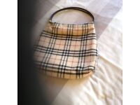 Burberry Tote Bag. Authentic perfect item.
