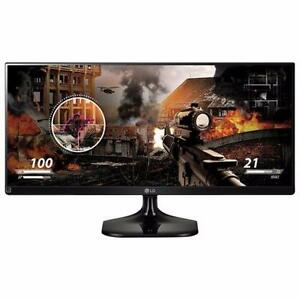 "LG 29UM58-P_790 29"" 21:9 Ultrawide IPS LED Gaming Monitor  (1.4 cm scratch on left bottom on the screen)"