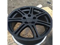 Honda Civic alloys just been refurbed
