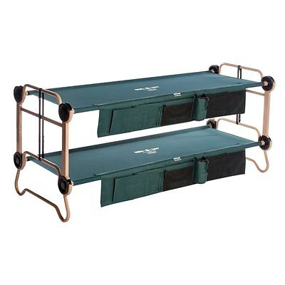 Outdoor Camping Large Green Disc-O-Bed Bunk Bed