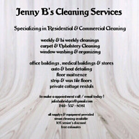 Residential & cottage cleaner available