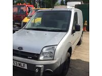 Ford transit connect breaking