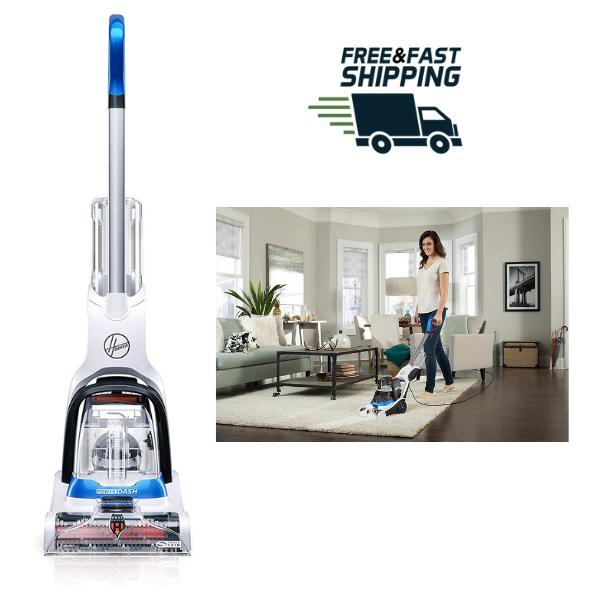 Powerdash Pet Carpet Cleaner Powerful Steam Machine Antimicr