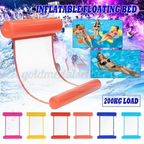 Wasser Hammock Wasserhängematte Luftmatratze Schwimmsessel Poolsitz Poolliege DE