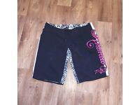 Women's animal board shorts